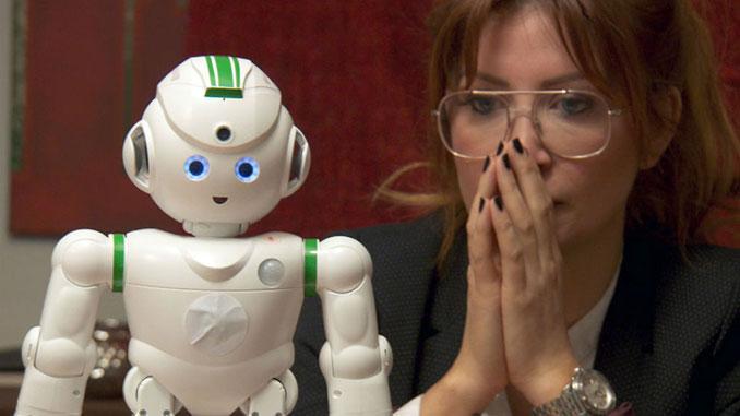 Robotar får ta hand om Japans gamla